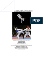 Manual de Taekwondo (Tamaño Carta)