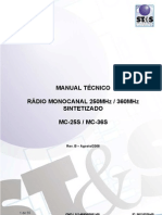 Manual Monocanal STS 250 360MHz