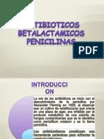 Antibioticos Betalactamicos y Penicilinas