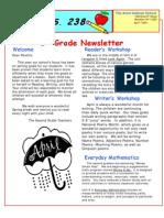 2nd Grade Newsletter April 09
