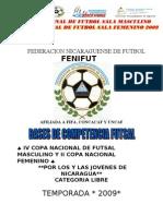 Bases Futsal 2009