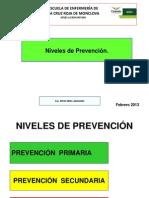 5.Niveles de Prev