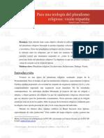 Teología del pluralismo religioso