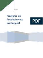 Programa de Fortalecimiento Institucional (LIFRAGA)