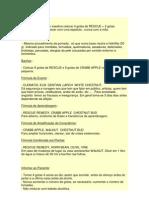 FORMULAS DE BACH E INDICAÇÃO