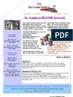 Southern Realtor Network Caravan Newsletter - 2 April 2009