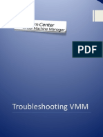 Troubleshooting VMM