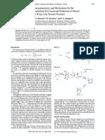 Wacker oxidation mechanism