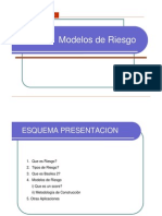 Modelos de Riesgo
