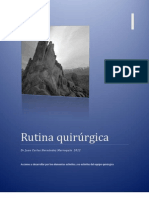 RUTINA QUIRURGICA2012
