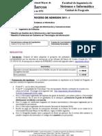Informativo Maestría 2011-I