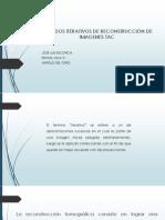 METODOS ITERATIVOS DE RECONSTRUCCIÓN DE IMAGENES TAC