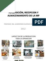 Charlas Recepcion y Alamcenamiento de La Mp Clase 3 2012