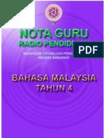 Nota Guru Bahasa Malaysia Tahun 4