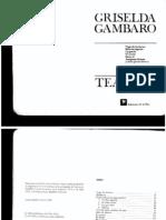 Gambaro+Griselda+ +Cuatro+Ejercicios+Para+Actrices