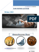 Daily Option News Letter 02april2013