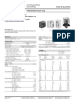 2-1393767-6 - R10 Series Panel Plug-in Relay