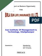 Project Birla Sun Life Insurance