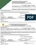Emergency Cash Loan Form 2013