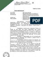 STF reconhece legitimidade do MP estadual para ajuizar reclamação originária ao STF - julgado de 2011 caiu no mpmg