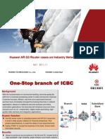 Huawei AR G3 Router Case Study(05-Dec-2011)