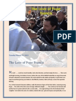 The Love of Pope Francis