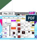 May 2013 Calendar Hlm Version 3