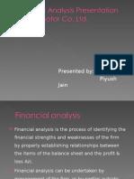 Financial analysis of Tvs motor co. ltd.