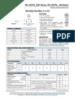 12CTQ035PBF - Schottky Rectifier
