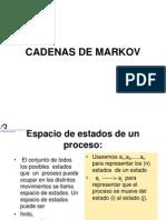 Diapositivas Cadenas de Markov