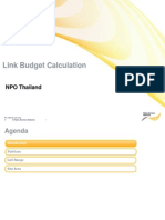 Link Budget Calculation Enabling_For Customer