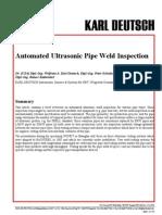 AutomatedUT WeldedPipes (WCNDT-Shanghai) WD Jan08 Very Good