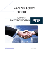 Equity Report 02 May 2013