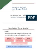 01 Sistem Kontrol Digital Proses Sampling