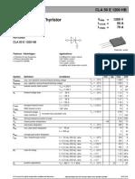 CLA50E1200HB - High Efficiency Thyristor