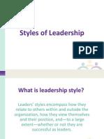 Style Leadership