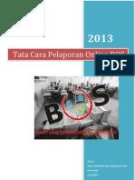 Tata Cara Pelaporan Online BOS 2013