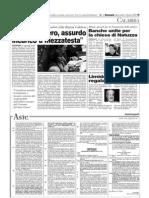 Il Domani 01.04.09 - Incarichi Esterni Regione Calabria Mezzatesta