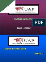 GEOLOGIA - I CLASE - UAP - HYO.ppt