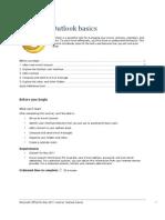 Outlook Tutorial - Outlook Basics