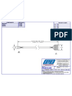 PE3614 - CABLE ASSEMBLY RG400-U SMA MALE TO N MALE.