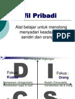 DiSC Kerangka DISC-Print Materi