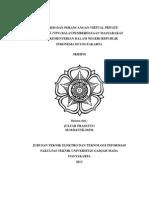 Analisis Dan Perancangan Virtual Private Network (VPN) Balai Pemberdayaan Masyarakat Desa Kementerian Dalam Negeri Republik Indonesia Di Yogyakarta