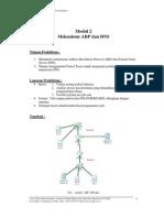 Praktikum Jaringan Komputer UGM Modul 2 Mekanisme ARP Dan DNS