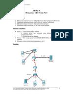 Praktikum Jaringan Komputer UGM Modul 3 DHCP Dan NAT