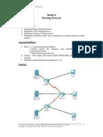 Praktikum Jaringan Komputer UGM Modul 4 Routing Protocol