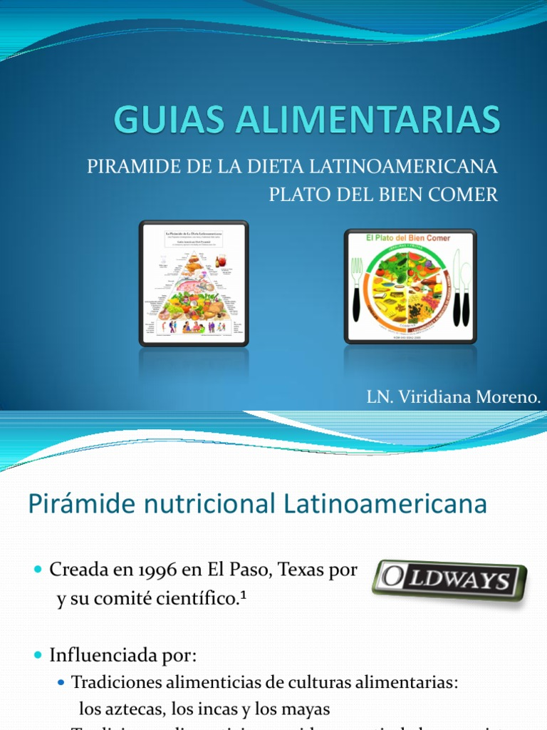 piramide dietetica latino americana