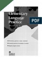 Elementary Language Practice Red