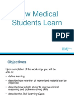 How Medical Students Learn