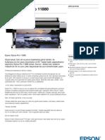 Epson Pro 11880 Plotter Dijital Baski Makinasi  - GenisFormat.com